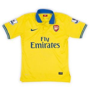 Nike Authentic Arsenal dri-fit soccer polo jersey #9 Batlle